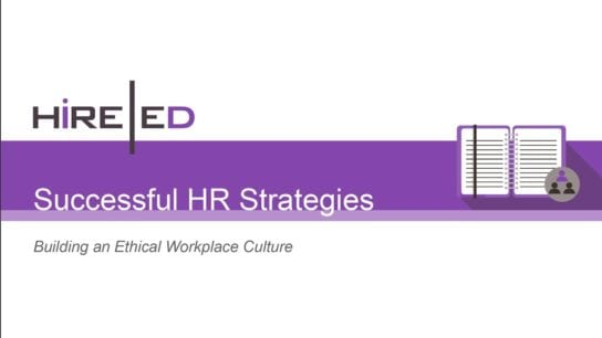 Successful HR Strategies