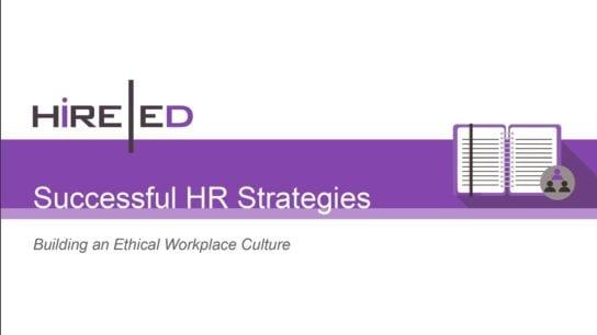 Successful HR Strategies