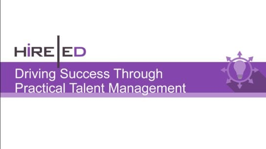 Driving Success Through Practical Talent Management