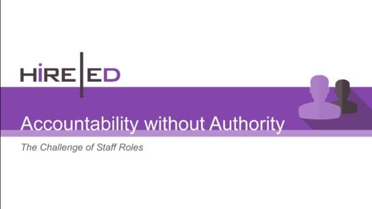 Accountability with Authority