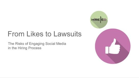 From likes to lawsuits