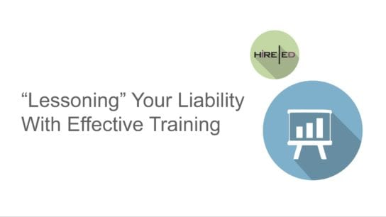Lessoning Your Liability